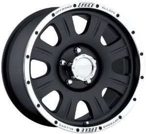 "Eagle Alloys 140 Black Wheel (17x8""/5x5"")"