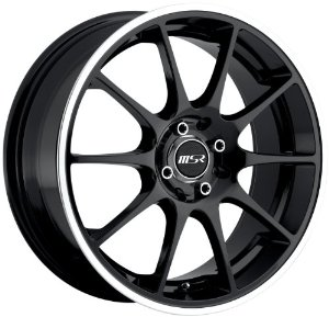 "Eagle Alloys 166 Black Wheel (17x7""/4x100mm)"