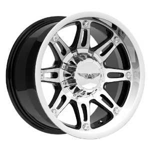 "Eagle Alloys Series 027 Black Wheel with Painted Finish (17x9""/5x5"")"