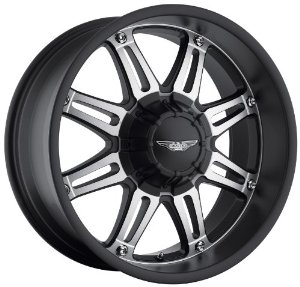"Eagle Alloys Series 027 Black Wheel with Painted Finish (20x9""/5x5"")"