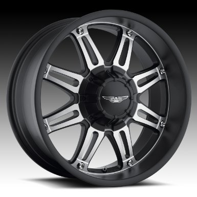 "Eagle Alloys Series 027 Black Wheel with Painted Finish (20x9""/6x5.5"")"