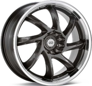 Enkei WDM (16 x 7, 5 x 100 & 5 x 114.3) 42mm Offset, Gunmetal, (1) Wheel/Rim