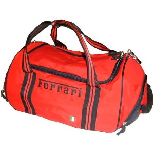 Ferrari nylon sport bag