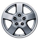 "Fiat 500 16"" Aluminum Alloy Wheel"