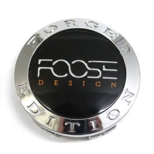 Foose Design Wheel Forged Edition Center Cap Chrome # 1001-52