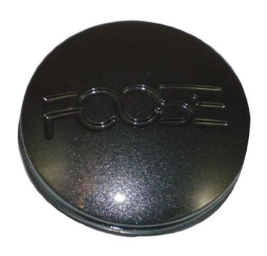 Sparkled Metalic Black Foose Center Cap