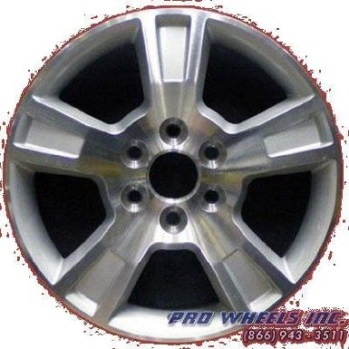 "Gmc Acadia 18X7.5"" Sil Factory Original Wheel Rim 5281"