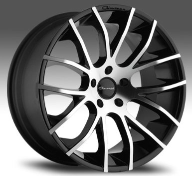 "Giovanna Kilis 20""x8.5 20""x10 Mercedes Benz C E S Class Wheels Rims Machine Black Lip 4pc"