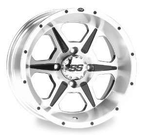 ITP SS106 Wheel - 12x7 - 2+5 Offset - 4/137 - Machined, Wheel Rim Size: 12x7, Rim Offset