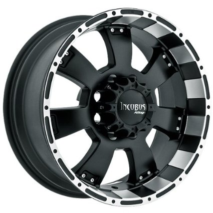 INCUBUS WHEELS KRAWLER BLACK MACHINE 6X5.5 +0 - 18X9