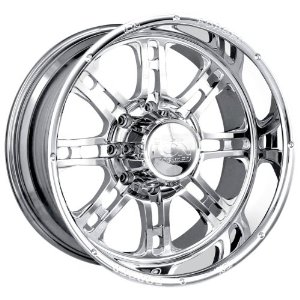 Ion Forged Terminator Chrome 22 Inch Wheel