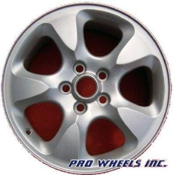 "Jaguar S-type 16X7.5"" Silver Factory Original Wheel Rim 59698 A"