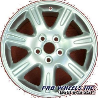 "Jaguar S-type 16X7.5"" Silver Factory Original Wheel Rim 59776"