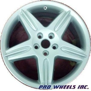 "Jaguar S-type 18X8"" Silver Factory Original Wheel Rim 59774"