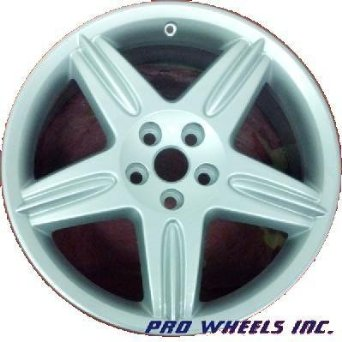 "Jaguar S-type 18X9.5"" Silver Factory Original Wheel Rim 59775"