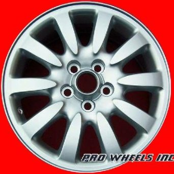 "Jaguar X-type 16X6.5"" Silver Factory Original Wheel Rim 59712"