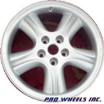 "Jaguar Xj Xj8 Xjr 18X8"" Silver Factory Original Wheel Rim 59695"