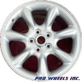"Jaguar Xj8 18X8"" Silver Factory Original Wheel Rim 59733"