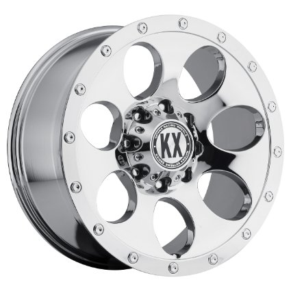 Katana KX Off-Road CP41 18x9 6x139.7 Chrome Finish Chevy, GMC New Wheels