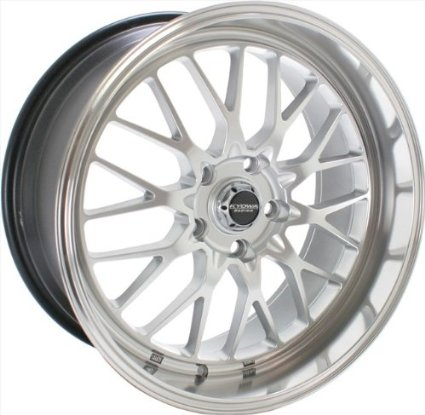 "Kyowa Racing 628 Evolve Hyper Silver Wheel with Painted Finish (18x9""/5x100mm or 5x112mm)"