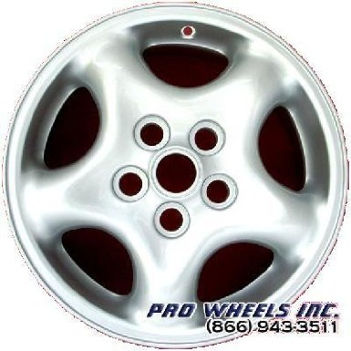 "Land Rover Discovery 16X8"" Silver Factory Original Wheel Rim 72157"