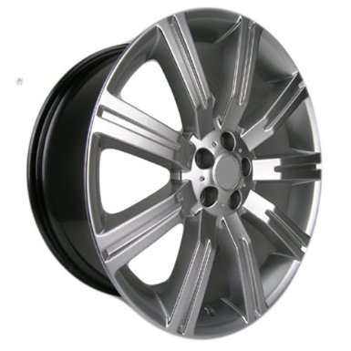 Sport Rack - 22x10 Wheels Land Rover Range Rover in Hyper Silver Finish (Set of 4-wheels)