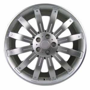Sport Rack - 22x9.0 Rims Wheels Rims Land Rover Range Rover in Hyper Silver Finish