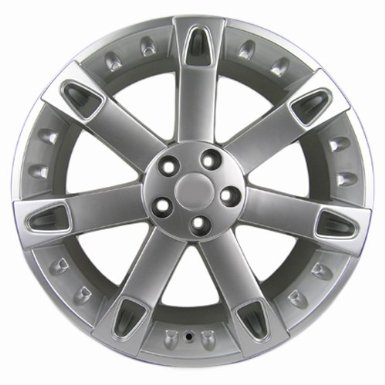 Sport Rack - 22x9.5 Rims Wheels Land Rover Range Rover in Hyper Silver Finish Set of 4
