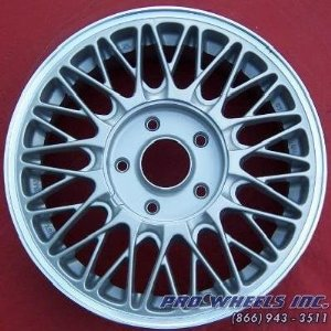 "Mazda 929 15X6"" Machined Silver Factory Original Wheel Rim 64733"