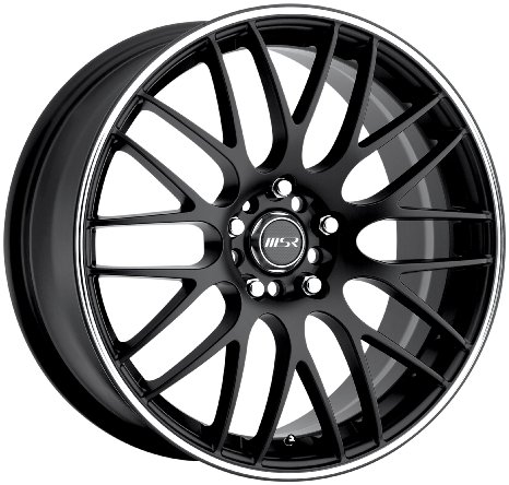 "MSR 045 Black Wheel (18x8""/4x100mm)"