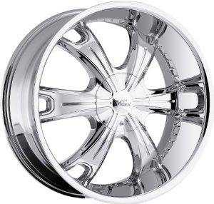 Milanni Stellar 20 Chrome Wheel / Rim 5x115 & 5x5.5 with a 15mm Offset and a 78.1 Hub Bore