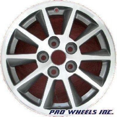 "Mitsubishi Galant 16X6.5"" Machined Gray Factory Original Wheel Rim 65798"