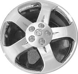 18 Inch 03 04 05 06 Nissan Murano Factory Chrome Clad Alloy Wheel Rim 40300CA085 62420a