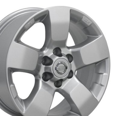 Factory Original Xterra 62510 OEM Wheels Fits Nissan - Silver 16x7 Set of 4