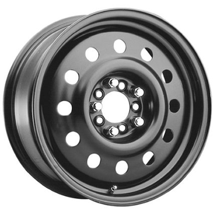 Pacer Black Modular 16 Black Wheel / Rim 5x4.25 & 5x4.5 with a 42mm Offset and a 72 Hub