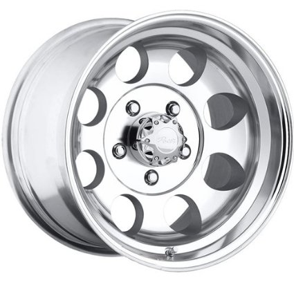 Pacer LT 15x10 Polished Wheel / Rim 5x5.5 with a -48mm Offset and a 108.00 Hub Bore