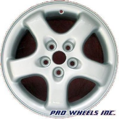 "Dodge Caravan Mini Ram Plymouth Voyager 15X6"" Silver Factory Wheel Rim 2021"