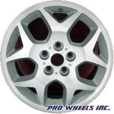 "Dodge Neon Plymouth Neon 15X6"" Machined Silver Factory Original Wheel Rim 2129 A"