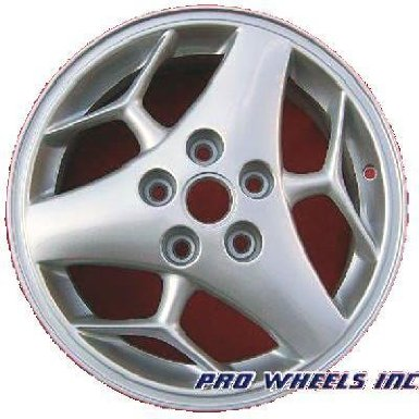 "Pontiac Aztek Grand Prix 16X6.5"" Silver Factory Original Wheel Rim 6543 A"