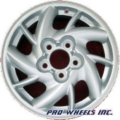 "Pontiac Grand Am Grand Am 15X6"" Silver Factory Original Wheel Rim 6547"