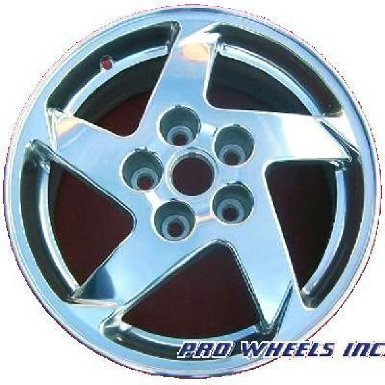"Pontiac Grand Prix 16X6.5"" Polish Factory Original Wheel Rim 6594"