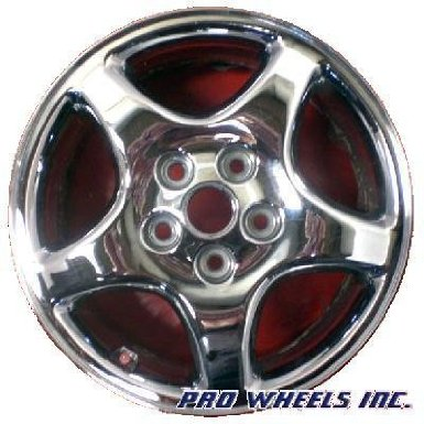 "Pontiac Grand Prix Montana 16X6.5"" Chrome Factory Original Wheel Rim 6529 C"