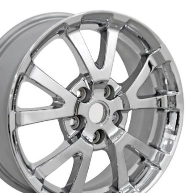 Pontiac Torrent Chrome Wheel 5275 OEM Rim Fits Equinox - 17x7