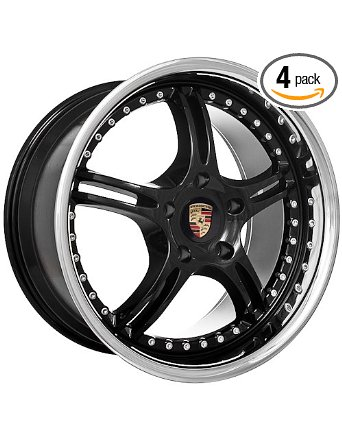 "18"" Porsche Boxster 911 944 968 996 wheels rims black"