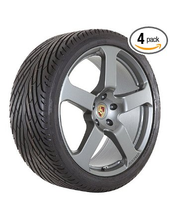 new 22 gunmetal Porsche Cayenne rims and tires package -- clearance sale --