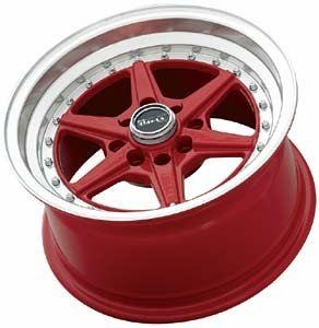 PRIMAX # 50158088 Wheels: Primax Series 501; 15x8; 4x100 bolt pattern; red