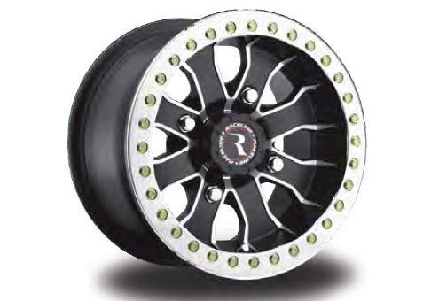 Raceline RT-Mamba Beadlock 14 Black Wheel / Rim 4x137 with a 25mm Offset and a Hub Bore.