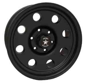 15x10 Rebel Sahara (Matte Black) Wheels/Rims 5x127 (772-5173)