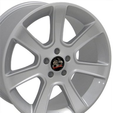 "20"" Fits Mustang (R) Saleen Style Wheel - Silver 20x10 Rear Set - PAIR"