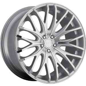 TIS 537MS 18 Silver Wheel / Rim 5x4.25 & 5x115 with a 42mm Offset and a 73 Hub Bore.